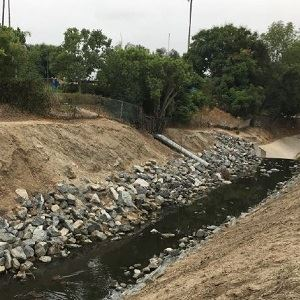 Fullerton Creek Rehab Project 2018-2019