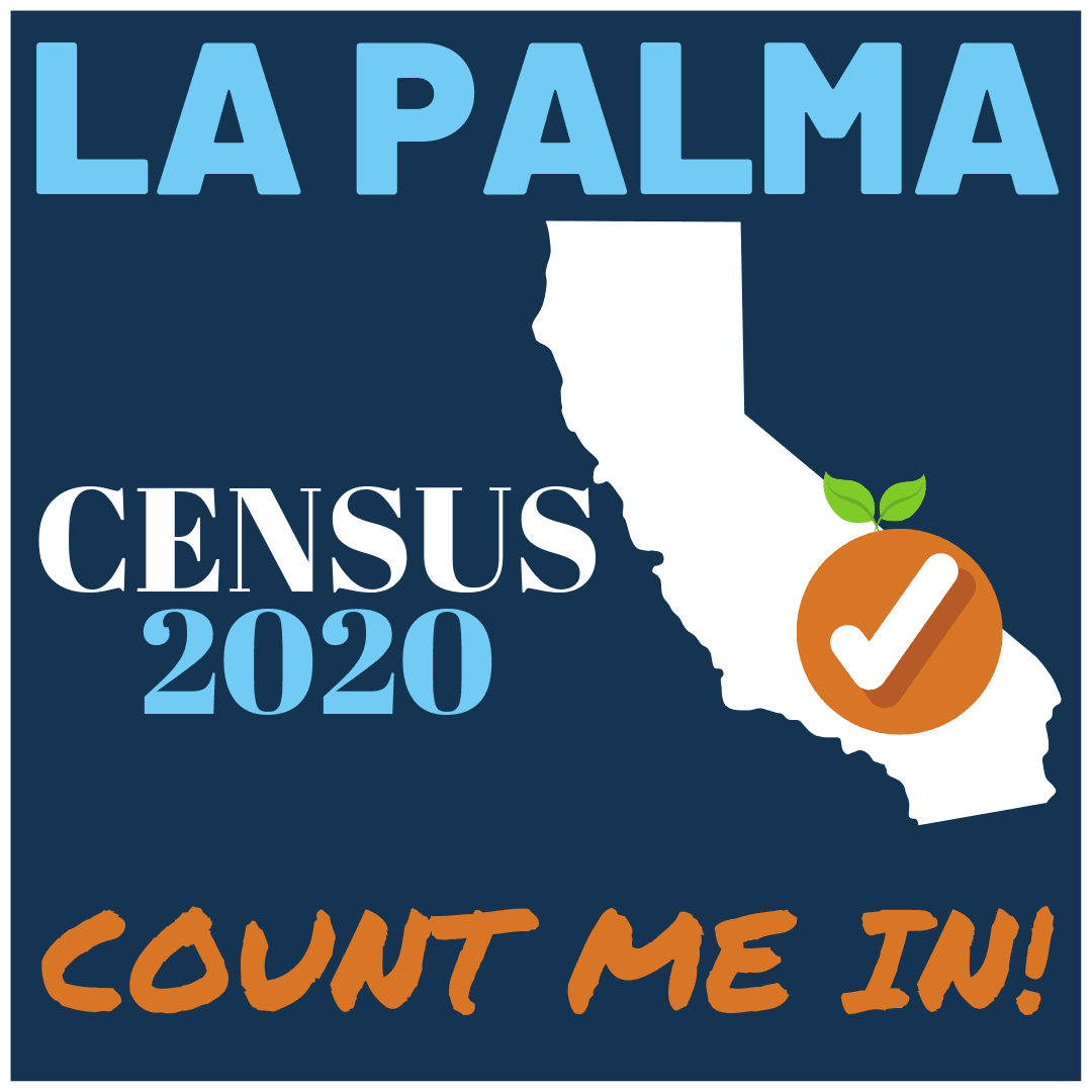 La Palma 2020 Census Logo